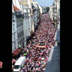 Manifestazione in Francia contro il green pass Sanitario