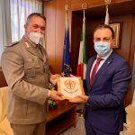 Visita ufficiale in Consiglio regionale del Comandante della Brigata Sassari, Generale Giuseppe Bossa
