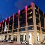 Cagliari. Prevenzione tumore al seno: il Palazzo del Consiglio in rosa